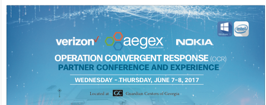 Aegex Collaborates with Verizon, Nokia, Guardian Centers on Unique Event