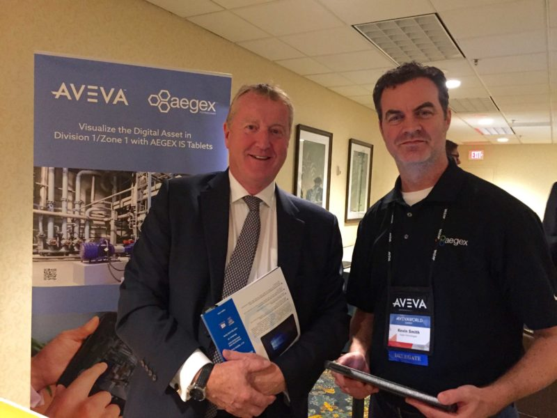CONNECTING AT AVEVA WORLD SUMMIT
