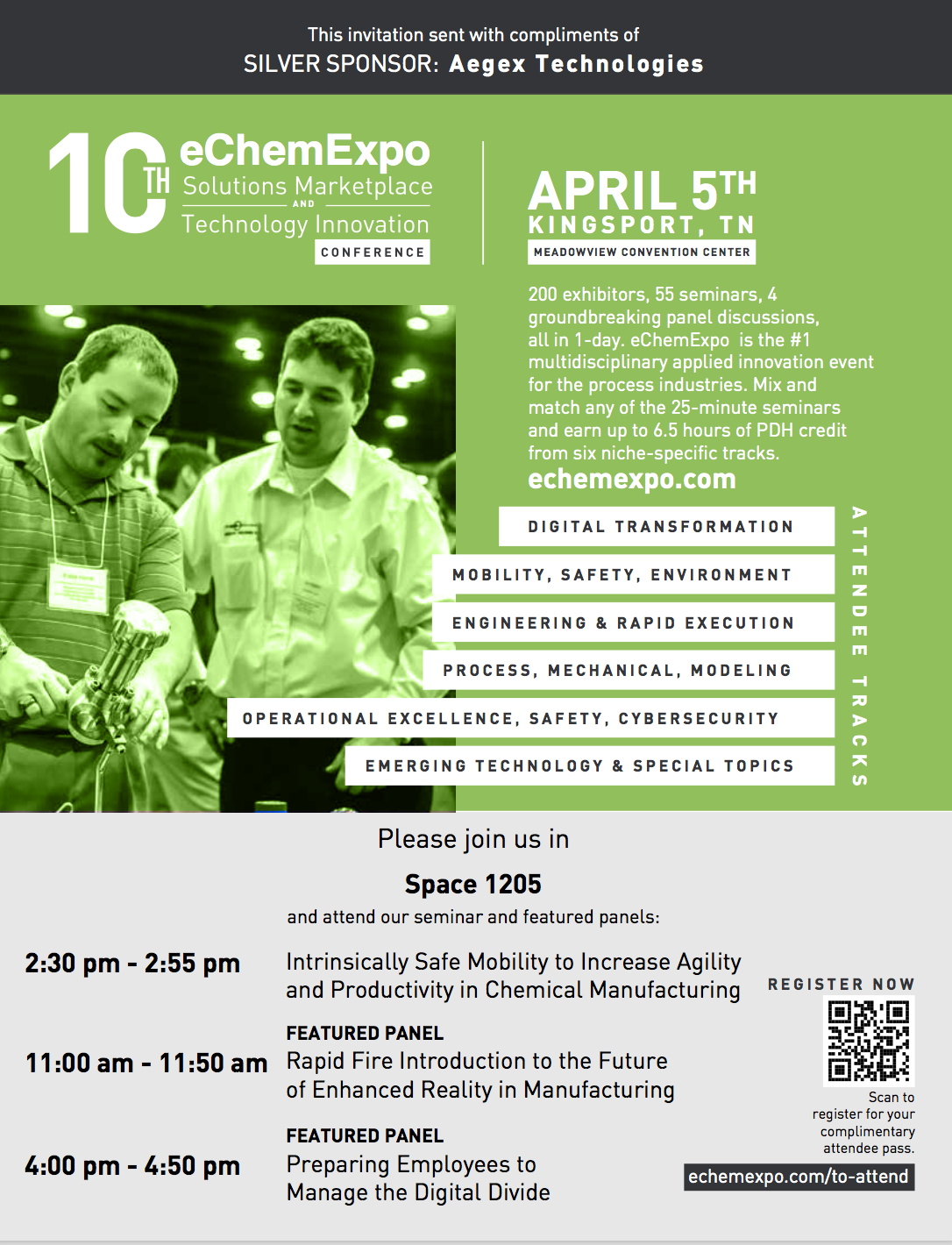 10th eChemExpo: Solutions Marketplace and Technology Innovation Conference.